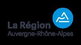 Le logo de la Région Auvergne-Rhône-Alpes